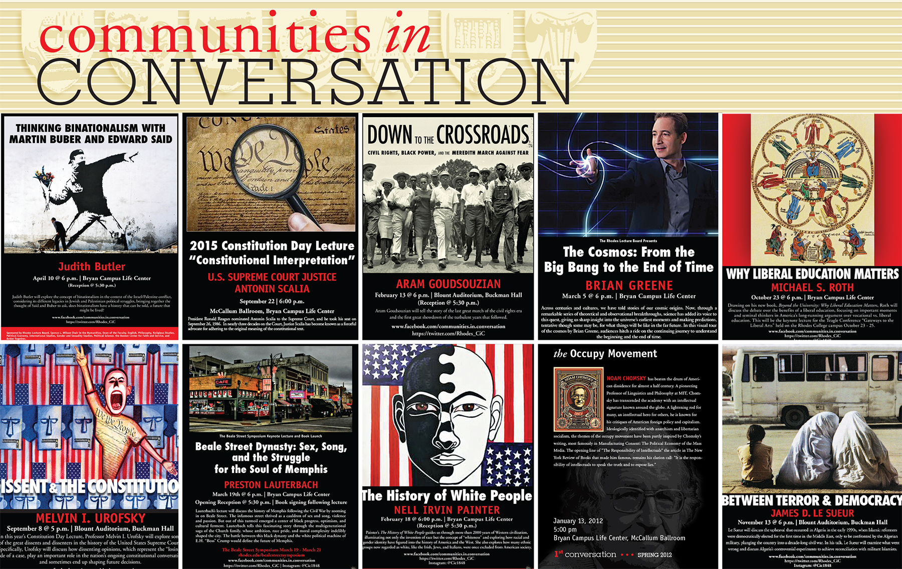 Communities in Conversation Posters
